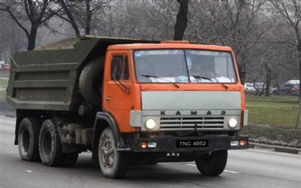 Russia Daimler Kamaz